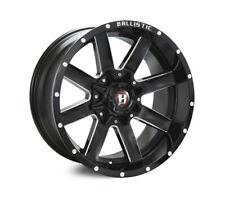 NEW 20x10 Ballistic Rage Millworks 6/139.7 N19 Wheel