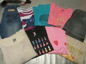 Lot 8 ans Tee-shirts ML Pull Jean Jupe Orchestra Dpam TAO Nky
