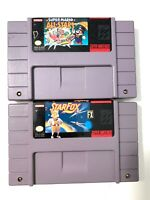 Star Fox & Super Mario All Stars SUPER NINTENDO SNES Authentic Game Lot Tested!