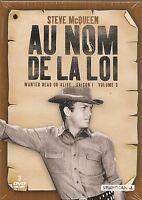 """En el nombre de la loi : temporada 1, vol.3"" 3 DVD -Steve McQUEEN EN BLÍSTER"