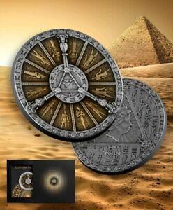 Niue 2021 - Egyptian Calendar - Ancient Calendars - 2 oz Silver Coin - Pre-sale