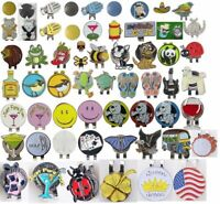 Golf Ball Mark with Golf Hat Clip Magnetic Outdoor Alloy Golf Marker Outdoor Set