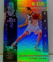 Joe Ingles 2019-20 Panini Illusions Silver Holo Refractor Card #104 Utah Jazz