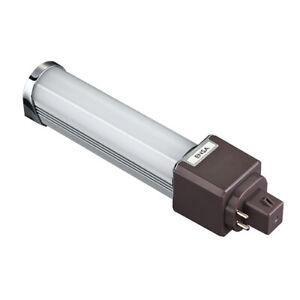 Energy Saving Long Life 10W LED PL G24Q 4-Pin Light Bulb (Warm White)