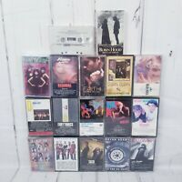 Lot Of 18 80's Pop And Rock Cassette tapes Duran Duran George Michael Bangles