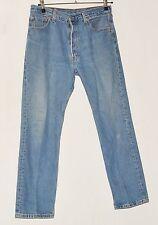 "VINTAGE Men's jeans blu scolorito Levi Strauss & Co XX 501 w34"" l30"""