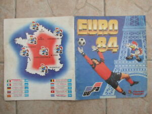 album panini foot rare Euro 84 avec 238 images collées