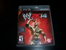 Replacement Case (NO GAME) W2K14  PS3 PLAYSTATION 3