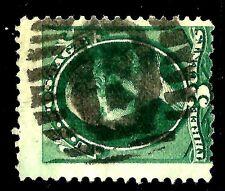 US 1800s Various Town POs' Fancy Cancel = Neg. 'B'-in-ELLIPSE ~ Cole #El-157