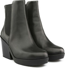 Camper Samba 46836 Ankle Boots Black Leather 36 6