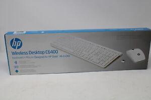 HP Wireless Tastatur Maus Desktop Set C6400 Weiß F2D48AA#AKC HU Hungary