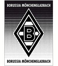 Borussia Mönchengladbach Fanartikel Coral Fleece Decke 150x200 cm superweich neu