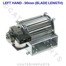 TAS09L 90 mm largo 60 mm Diámetro Redondo Blade 240 V Ventilador tangencial motor del ventilador (izquierda)