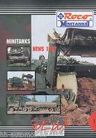 2002ROC Roco Prospekt Militärfahrzeuge Modellautos 1997 News catalog military