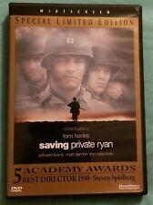 """""""Saving Private Ryan"""" Tom Hanks & Matt Damon, Widescreen, Pre Owned Dvd"""