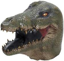Alligator Latex Mask Jungle Animal Fancy Dress Halloween Adult Costume Accessory