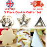 5 Pc Biscuit Cutter Cookie Set Cake Mould Pastry Cookie Egg Icing DIY Decorating