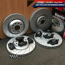 FOR VW GOLF MK5 R32 MK6 GOLF R AUDI S3 FRONT REAR PERFORMANCE BRAKE DISCS PADS