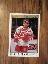 1991-92 OPC Premier Steve Yzerman NM Detroit Red Wings HOF
