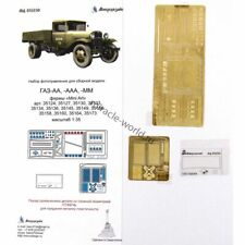 Microdesign 035230 Photoetched for GAZ-AA, GAZ-AAA, GAZ-MM (MiniArt/Zvezda) 1/35