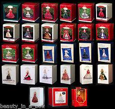 Holiday Celebration Ornament Hallmark 1988 - 2014 ~ 1992 2009 2013 Barbie Doll