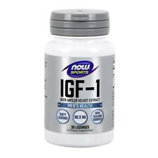 NOW Foods IGF-1 30 Lozenges FREE SHIPPING MADE IN USA