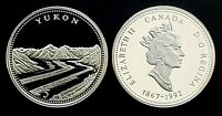 1992 Canada 125th Yukon 25 Cents Silver Proof Quarter!!
