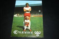 Hermann Erlhoff Autogrammkarte Rot-Weiß Essen 70er Jahre Unterschrift Schalke 04