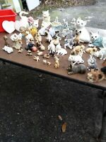 Lefton & Enesco,Quarry Critter,Pet tales and more Cat Figurines Collectibles