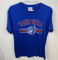 Toronto Blue Jays Shirt Old Logo MLB Baseball Mens Medium M Genuine Merchandise