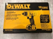 "DeWalt DCF610S2 12v 1/4"" Screwdriver Kit with two battery and charger"