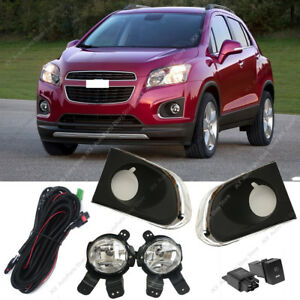 For Chevy Chevrolet Trax 2013-2016 Bumper Cover Fog Light Driving Lamp Harness k