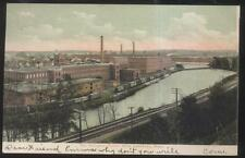 Postcard LAWRENCE Mass/MA  Arlington Cotton Mills Factory/Plant Aerial view 1907