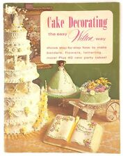 Cake Decorating the East Wilton Way 1973 Catalog & Idea Book
