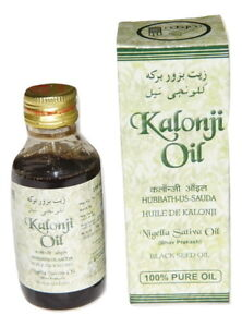 2 X 100ML Kalonji Oil (Nigella Sativa Oil) 100% Pure and Natural Black seed oil