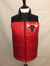 Mitchell and Ness Men's Chicago Bulls Puffer Vest Size M