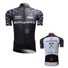 Mens MTB Road Cycling Short Sleeve Jerseys Riding Jersey Bike Bicycle Shirt Tops