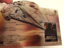 Hoja Bloque Sello Han Solo Star Wars