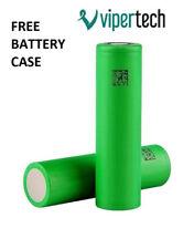 2 X GENUINE Sony 18650 VTC6 3000mAh 30A Battery **FREE CASE**