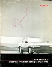 ACURA LEGEND Service Manual 1986 Ed Yamamotto Signature