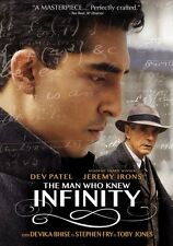 The Man Who Knew Infinity (DVD,2016) (pard59181174d)