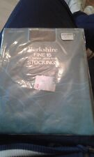 BERKSHIRE FINE 15 15 DENIER PLAIN KNIT   STOCKINGS