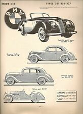 Automobile technical review 41 rta 1949 salmson s4 61 1938 49 320 321 326 327 bmw