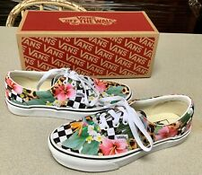 NEW Vans Tropical Animal Check Era Women's 7.5 Men's 6 lace up Shoes