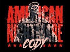 Autographed Cody Rhodes 18 x 24 Poster, American Nightmare Bottom Line NJPW ROH
