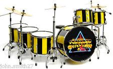Miniature Drums STRYPER Robert Sweet Stryper Yellow and Black Drums