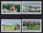 1983 NORFOLK ISLAND 200th ANNIVERSARY OF MANNED FLIGHT SET OF 4 FINE MINT MNH