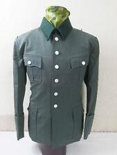 Gr. 56 Wehrmacht Offiziersbluse GABARDINE Feldbluse Offizier M36 Uniform