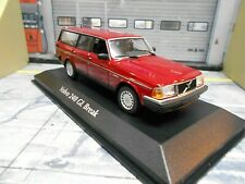 VOLVO 240GL 240 GL Break Kombi rot red met. 1986 Maxichamps Minichamps 1:43
