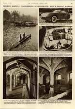 1952 Glen Affric Scheme Midget Sub French Gas Turbine Car Henry Viii Wine Cellar